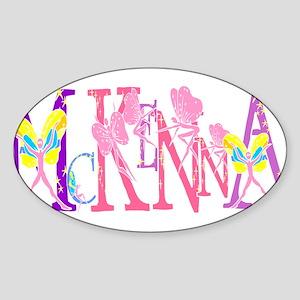 McKENNA Oval Sticker