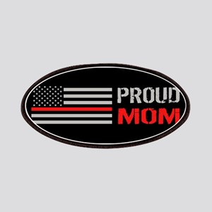 Firefighter: Proud Mom (Black) Patch