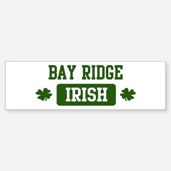 Bay Ridge Irish Bumper Bumper Bumper Sticker
