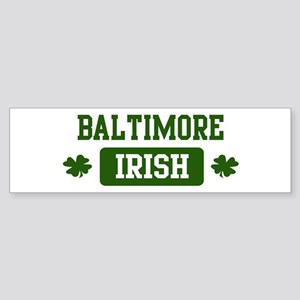 Baltimore Irish Bumper Sticker