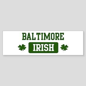Baltimore Irish Bumper Sticker