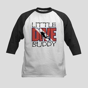 Little Dive Buddy Kids Baseball Jersey