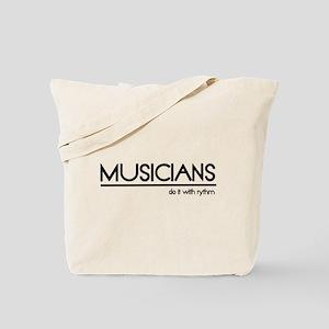Musician Joke Tote Bag