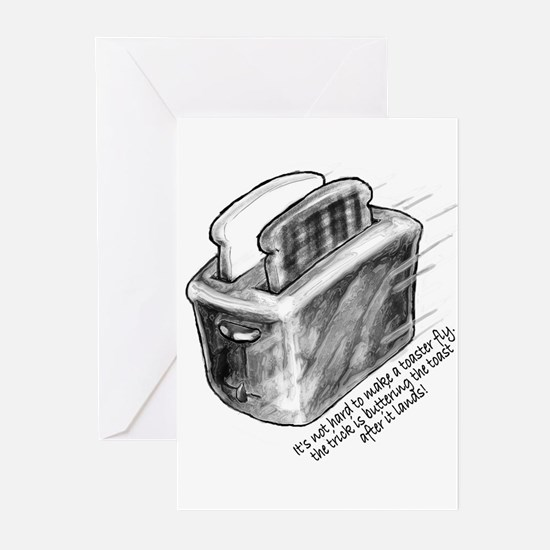 The Flying Toaster Greeting Cards (Pk of 10)