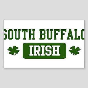 South Buffalo Irish Rectangle Sticker
