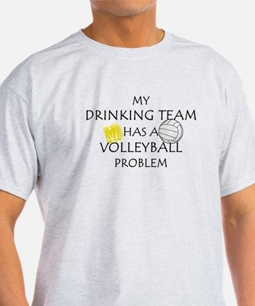 drinking volleyball team T-Shirt