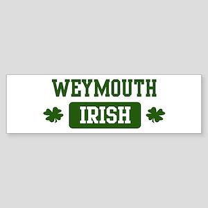 Weymouth Irish Bumper Sticker