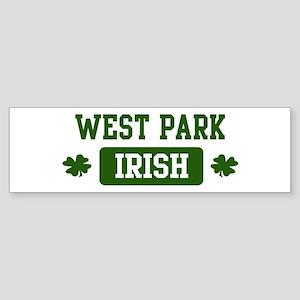 West Park Irish Bumper Sticker