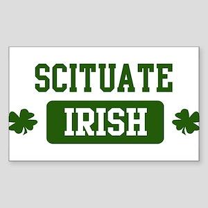 Scituate Irish Rectangle Sticker