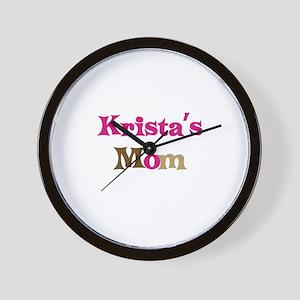 Krista's Mom Wall Clock