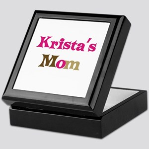 Krista's Mom Keepsake Box