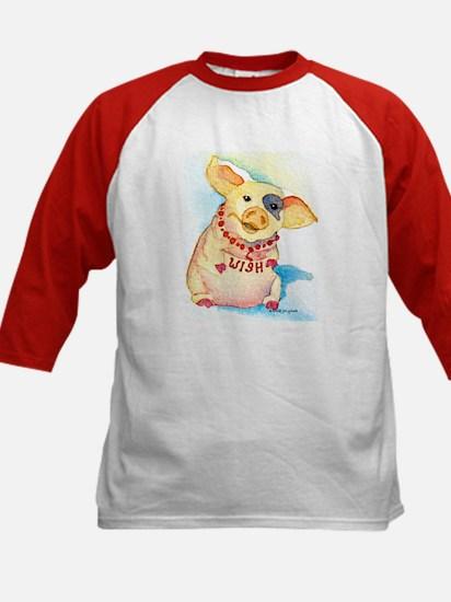 Wish Pig Kids Baseball Jersey