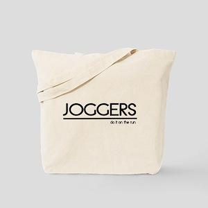Jogger Joke Tote Bag