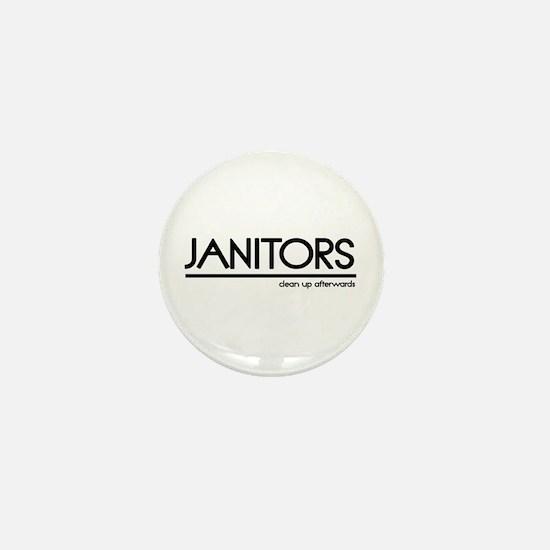 Janitor Joke Mini Button