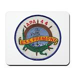USS FREMONT Mousepad
