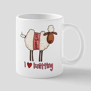 i love knitting Mug
