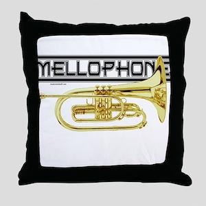 Mellophones Throw Pillow