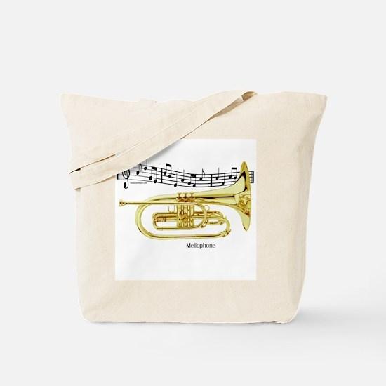 Mellophone Music Tote Bag
