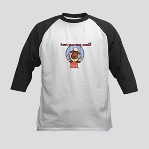 have you any wool ? Kids Baseball Jersey