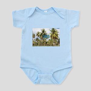Puerto Rico, Palm Trees Body Suit