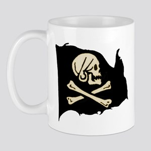Henry Avery Pirate Flag Mug