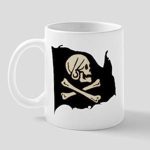 Henry Avery Pirate Flag Mug
