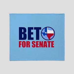 Beto Texas Senate Throw Blanket