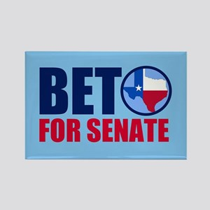 Beto Texas Senate Rectangle Magnet