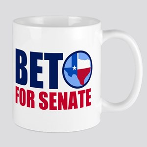 Beto Texas Senate 11 oz Ceramic Mug