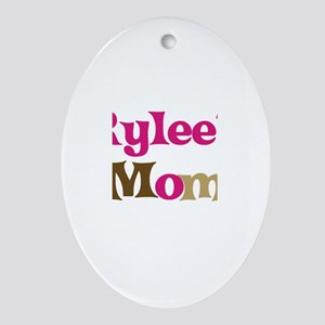 Rylee's Mom Oval Ornament