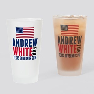 Andrew White 2018 Governor Drinking Glass