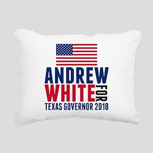 Andrew White 2018 Govern Rectangular Canvas Pillow