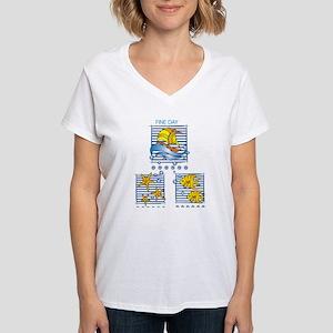 Fine Days Ash Grey T-Shirt