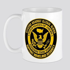 Citizens Against Illegal Aliens Mug