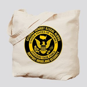 Citizens Against Illegal Aliens Tote Bag