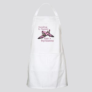Kyaking is Cheaper BBQ Apron