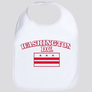 Washington D.C. Cotton Baby Bib