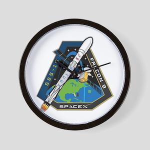 SES-10 Launch Team Wall Clock