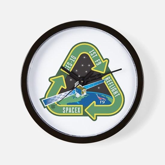 SES-10 Program Logo Wall Clock