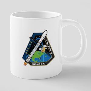 SES-10 Launch Team 20 oz Ceramic Mega Mug