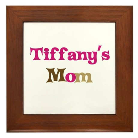 Tiffany's Mom Framed Tile
