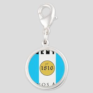 Argentina 1816 Silver Round Charm