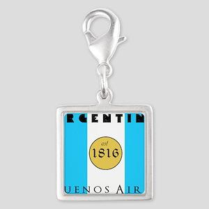 Argentina 1816 Silver Square Charm
