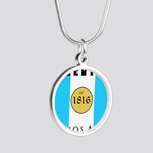 Argentina 1816 Silver Round Necklace