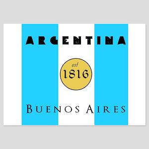 Argentina 1816 5x7 Flat Cards