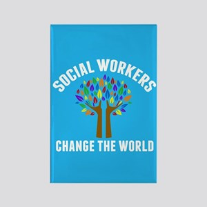 Social Work Quote Rectangle Magnet