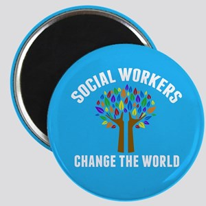 Social Work Quote Magnet