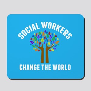 Social Work Quote Mousepad