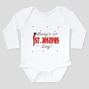 Baby's First St. Joseph's Day Kids Infant Bodysuit