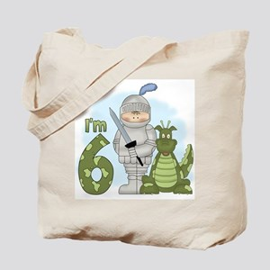 Dragon Knight 6th Birthday Tote Bag